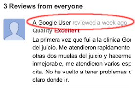 Google removes Anonymous reviews